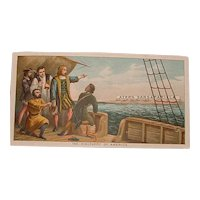 Antique Advertising Victorian Trading Card - Ayer's Sarsaparilla