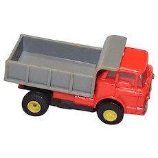 Slot Car Aurora HO Scale Mac Truck Red