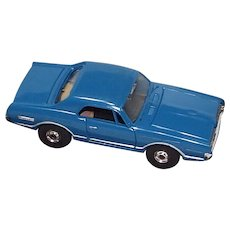 Slot Car Aurora HO Scale Blue Cougar