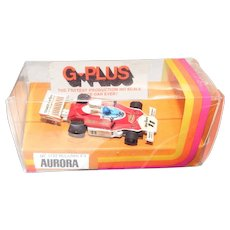 Slot Car Aurora HO Scale G-Plus McLaren F1