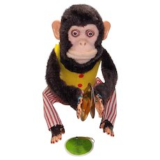Vintage Musical Jolly Chimp Vintage Toy