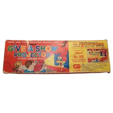 Kenner Give a Show Projector 42 color slides 6 shows