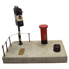Vintage Toymatic Road Signal with Mailbox Battery Cover