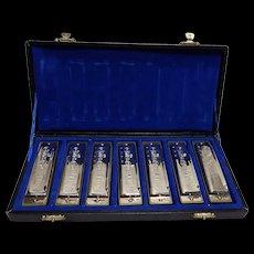 Vintage Toy 25th Anniv. Chicago Blues Harmonica Set