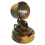 Vintage WWI or WWII TIPPCO  Toy Searchlight w/ Lens for 7mm Figures
