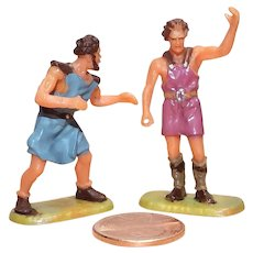 Vintage Elastolin Figures 40 mm Romans