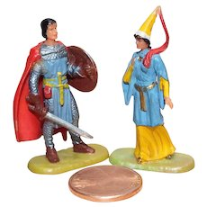 Elastolin Figure 40 mm Prince Valiant and Princess Aleta