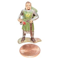 Vintage Elastolin Figure 40 mm Sir Gawain