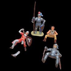 Vintage Elastolin Figure 40 mm Misc Figures
