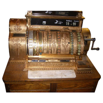 National Cash Register - four drawer electric