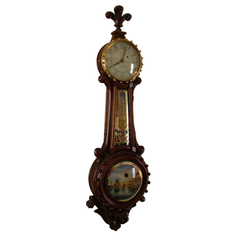 Banjo clock - Foster Campos maker