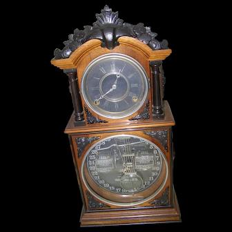Ithaca 3 1/2 Parlor Clock