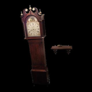 Tall case clock - Scottish