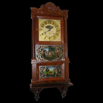 Triple decker clock by Ives
