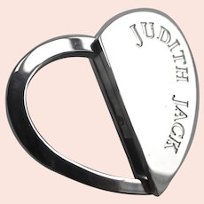 JUDITH JACK  Heart Spring Key Holder