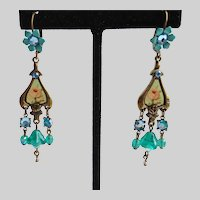Michal Negrin Romantic Drop Earrings