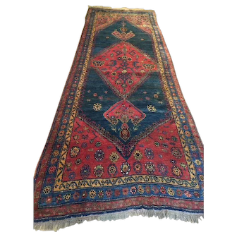Tribal  Persian Kurd Bijar Rug-2