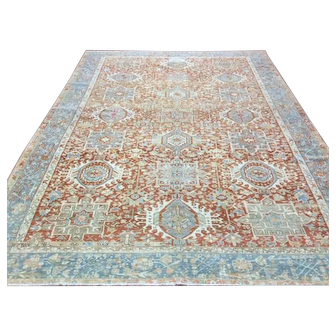 Decorative  Persian Karajeh Rug-4653