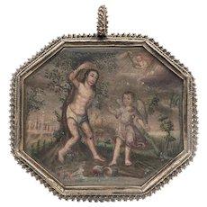 1700s French St. Sebastian Reliquary