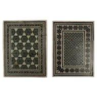 Sadeli Inlay Card Holders, Pair