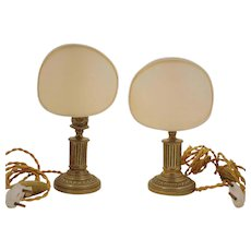 Set of two Candlestick Lamps