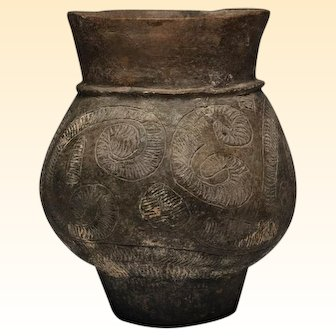 Ban Chieng Baluster Shaped Pottery Vessel, Ca. 500-300 B.C.