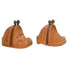 Spanish Colonial Wooden Stirrups (two pieces)