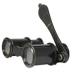 Vintage Binoculars Opera Glasses, Horn Handle