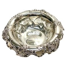 Tiffany & Co. Makers Sterling Silver Pierced Bowl #14619, circa 1905