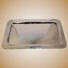 Elegant Allan Adler Modernist Sterling Silver Centerpiece Tray 58ozt circa 1940