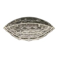 Steuben Giant Tortoise Like Shell Crystal Glass Bowl by Ted Mueling. MSRP $16,000
