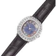 Audemars Piguet Limited Edition 1/1 White Gold Diamond & Enamel Billiards Wristwatch