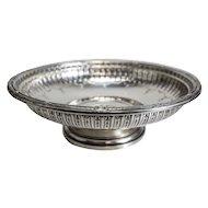 Gorham Sterling Silver Centerpiece Fruit Bowl in Marie Antoinette #13176, 1948