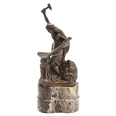 Jules Leon Butensky (Russian 1871-1947) Roman Bronze Works, Universal Peace