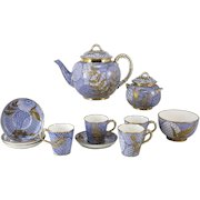 Royal Worcester Aesthetic Japonsim Tea Set Designed by Christopher Dresser