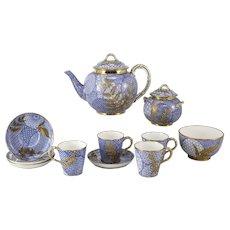 Royal Worcester Aesthetic Japonsim Tea Set Designed by Christopher Dresser