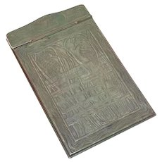 Tiffany & Co. Studios New York Bronze Note Pad in Nautical #1847