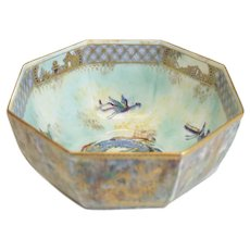 Wedgwood Porcelain Makeig Jones Fairyland Lustre Celestial Dragon Bowl #Z4831