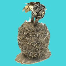 Janna Thomas De Velarde for Tiffany & Co. Gilt Sterling Silver Figurine, c.1970
