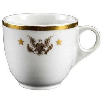 Presidential Shanango Pottery China John F. Kennedy Porcelain Tea Cup