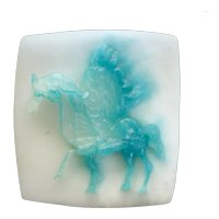 Daum Pâté Pate de Verre Glass Pegasus Sculpture by Salvador Dali, Ltd Ed of 250