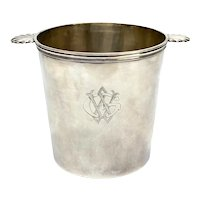 Continental 800 Silver Double Handled Wine Cooler by Fallon
