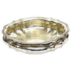 Pradella Ilario for Tiffany & Co. Italian Sterling Silver Large Centerpiece Bowl