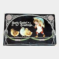 Hearty Easter Greetings Postcard - J.B. & Co.