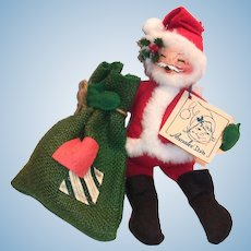 Annalee Santa Claus with Bag Doll