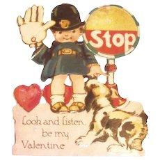 Vintage Stop! Look & Listen, Be My Valentine-Germany