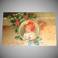 International Art Publishing: A Bright and Happy Christmas Postcard