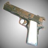 Vintage Zee Toys Metal Army Pistol