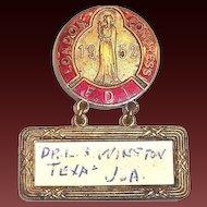 London Congress F.D.I. 1952 Medal