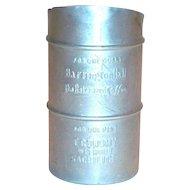 Advertising: Baker Hall Small Aluminum Measuring Pitcher